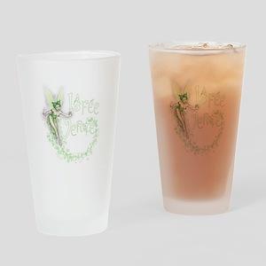 Absinthe Fairy Flitting Drinking Glass
