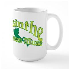 Absinthe The Green Muse Large Mug