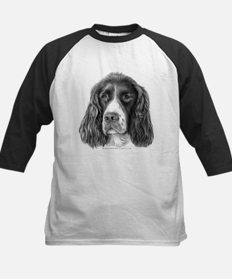 English Springer Spaniel Kids Baseball Jersey