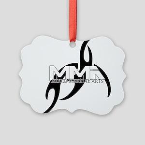 MMA tribal9 Picture Ornament