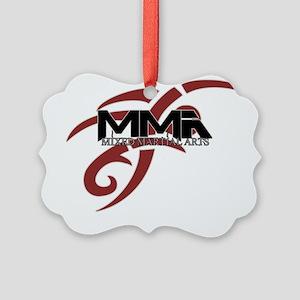 MMA tribal7 Picture Ornament