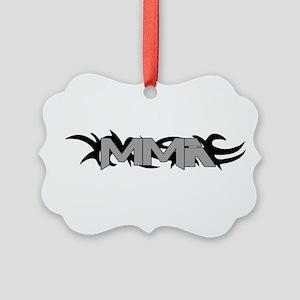MMA tribal6 Picture Ornament