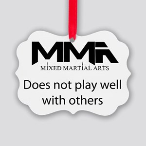 MMA Not Play Picture Ornament