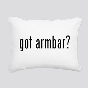 got armbar Rectangular Canvas Pillow