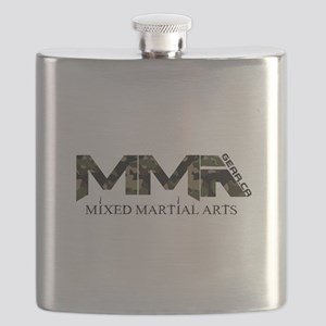 Camoflauge MMA Mixed Martial Arts Design Flask