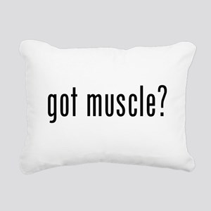 Got Muscle? Rectangular Canvas Pillow