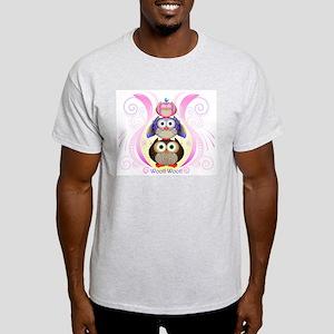 Woot Owls 2012 Light T-Shirt