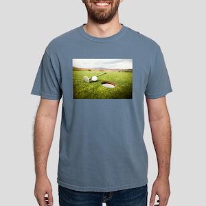 golf hole Mens Comfort Colors Shirt