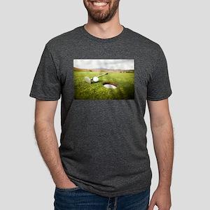 golf hole Mens Tri-blend T-Shirt