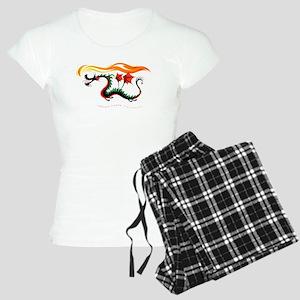 Fiery Dragon Women's Light Pajamas