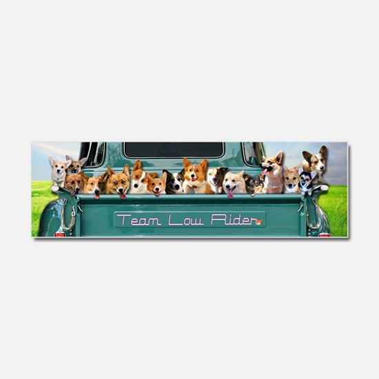 Funny Pembroke Car Magnet 10 x 3