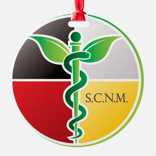 SCNM Medicine Wheel Logo Ornament