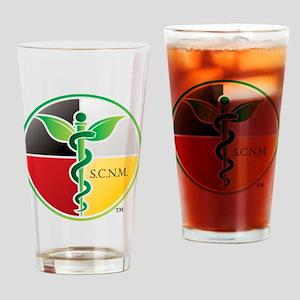 SCNM Medicine Wheel Logo Drinking Glass