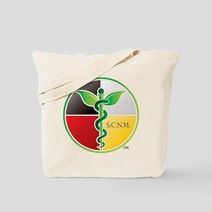 SCNM Medicine Wheel Logo Tote Bag