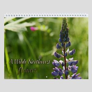 WildeNW -flowers 2011 Wall Calendar