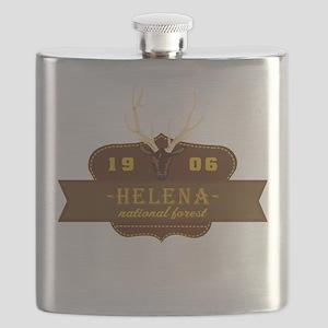 Helena National Park Crest Flask