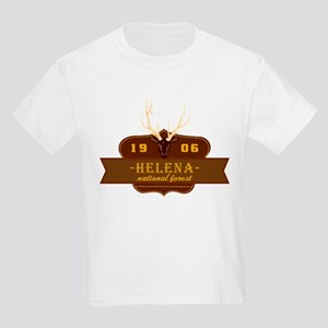 Helena National Park Crest Kids Light T-Shirt