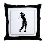 golf shadow.jpg Throw Pillow