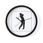 golf shadow.jpg Wall Clock
