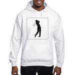 golf shadow.jpg Sweatshirt