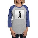 golf shadow.jpg Womens Baseball Tee
