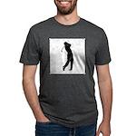 golf shadow.jpg Mens Tri-blend T-Shirt