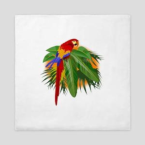 Parrot Queen Duvet