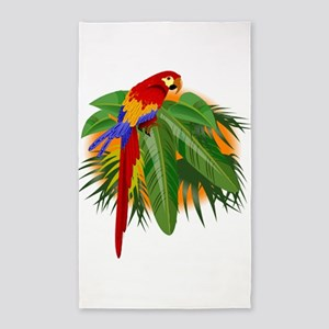 parrot 3'x5' Area Rug
