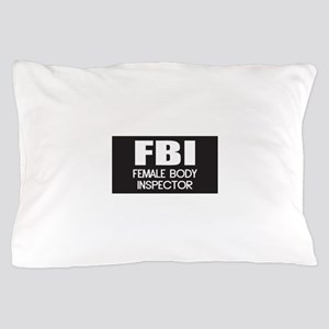 Female Body Inspector Pillow Case