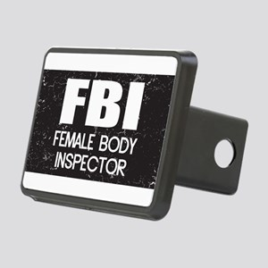 Female Body Inspector - Distressed Texture Rectang
