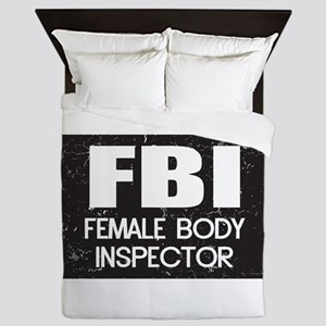 Female Body Inspector - Distressed Texture Queen D