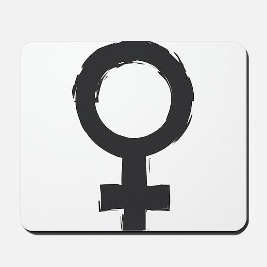 Female Symbol Mousepad
