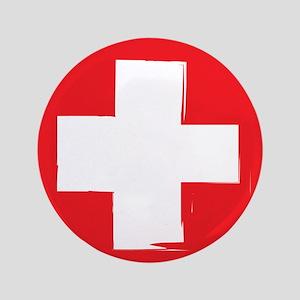 "First Aid 3.5"" Button"