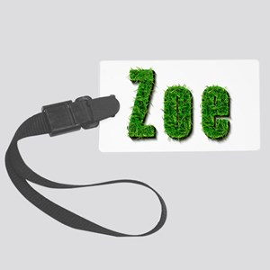 Zoe Grass Large Luggage Tag