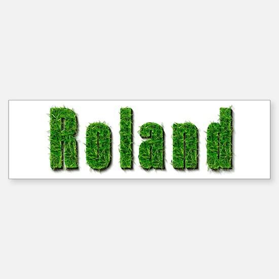 Roland Grass Bumper Bumper Bumper Sticker