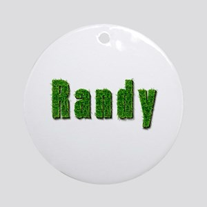 Randy Grass Round Ornament