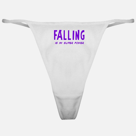 Super Power: Falling Classic Thong