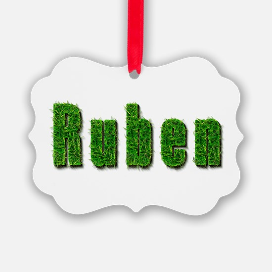 Ruben Grass Ornament