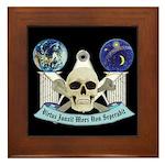 Masonic Virtus Junxit Mors Non Seperabit Framed Ti