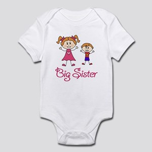Big Sister with Little Brother Infant Bodysuit