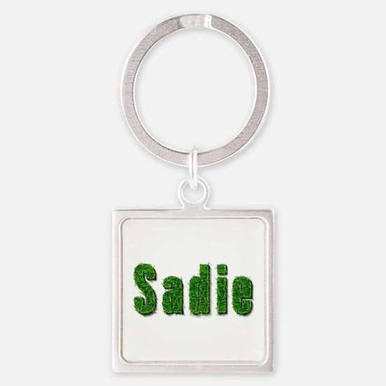 Sadie Grass Square Keychain