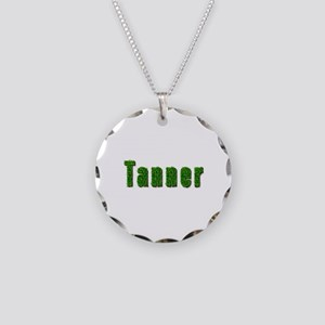 Tanner Grass Necklace Circle Charm
