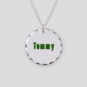 Tommy Grass Necklace Circle Charm
