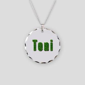 Toni Grass Necklace Circle Charm
