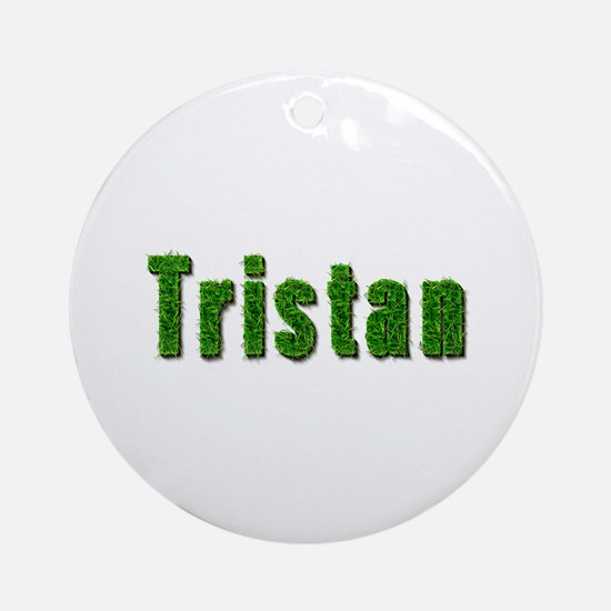 Tristan Grass Round Ornament