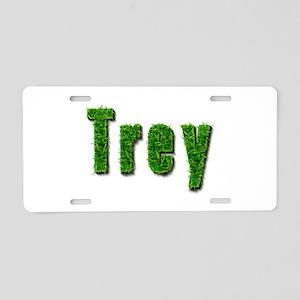 Trey Grass Aluminum License Plate
