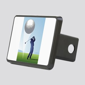 golf shoot Rectangular Hitch Cover