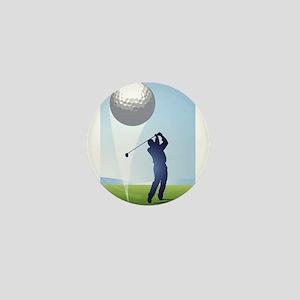 golf shoot Mini Button