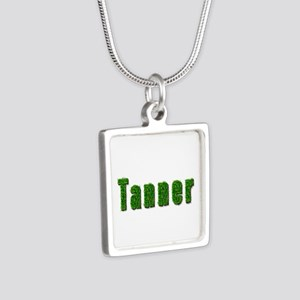 Tanner Grass Silver Square Necklace