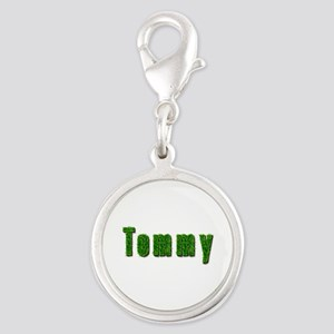 Tommy Grass Silver Round Charm